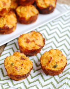 With a few simple ingredients you can whip up these delectable sweet potato puffs packed with cheesy jalapeño flavor. Courtesy of the Lean Green Bean, this recipe transforms mashed sweet potatoes into a portable snack or appetizer. Make a batch a freeze ahead of time so you can reheat when hunger hits. Lindsay is a Registered Dietitian …