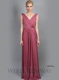 Color Old Rose Ingrid Dress By Pgp In The Closet Bridesmaid