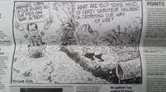 Russel Norman and Conservation Minister Nick Smith as depicted by Tom Scott in The Dominion Post yesterday. Tom Scott, Thrasher, Conservation, Norman, Politics, Life, Canning