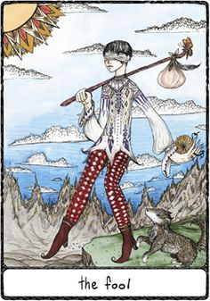 Efflorescent Tarot - The Fool