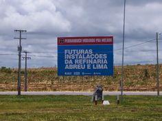 Você acaba de acessar o site: As mazelas do Recife: Refinaria Abreu e Lima