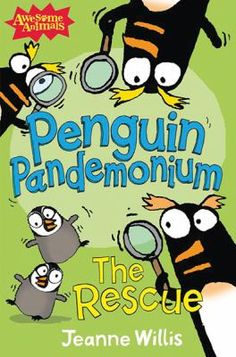 Funny, easy to read chapter books about the hilarious antics of those goofy penguins.
