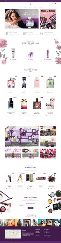 Best Ecommerce Website for Beauty / Cosmetics Store - Virgo Shopify theme #shopify #ecommerce #theme #template #webdesign #shopifystore #shopifythemes #ecommercewebsite #ecommercetheme #beautystore #cosmetics #perfume #fragrances #onlineshop