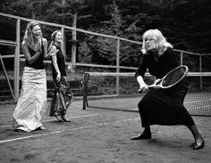 Marianne Faithfull, Kate Moss by Bruce Weber