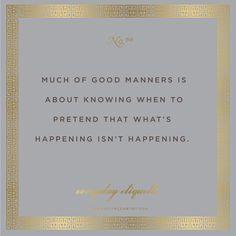 Everyday Etiquette No. 66 // Etiquette // EmilyMcCarthy.com