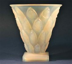 Reasonable Original Art Deco Amber Pressed Glass Flower Bowl 12 Hole Frog Harmonious Colors Bagley/sowerby/davidson British