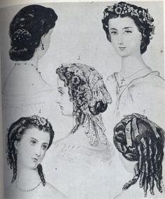 Autres coiffures Victoria et Elizabeth