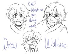 Callum Hunt / Drew Wallace from The Iron Trial (misterpoof.tumblr.com)