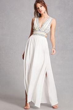 Soieblu Embroidered Maxi Dress