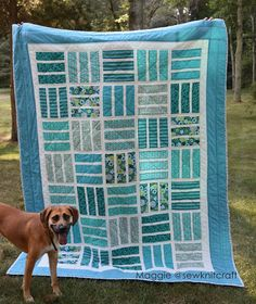 I love it when you share with me the quilts you've made from my patterns! This one is Nautical News by Maggie@sewknitcraft. I love the fresh colors! A Nautical News twin quilt is in my future too!