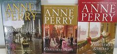 Author Anne Perry Three Book Bundle, Includes: Blind Justice - Hristmas Hope - A Christmas Garland Resale Store, Hard To Find, Bestselling Author, Textbook, Garland, Blinds, Household, Electronics, Amazon