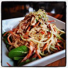 Thai food heaven! #Vegan, #Raw, Pad Thai!
