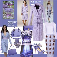 A fashion look from December 2013 featuring purple dresses, Burberry and high heel shoes. Purple Color Palettes, Purple Palette, 2014 Trends, Fashion Colours, Pantone Color, Color Trends, Color Inspiration, Womens Fashion, Fashion Trends