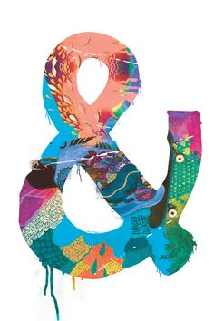 Ampersand Print 3  8 x 10 by hellokirsten on Etsy, $12.00