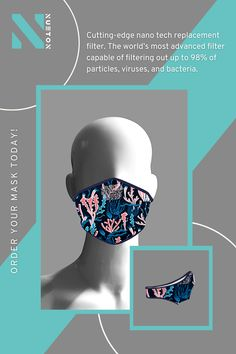 One just can't resist buying something that's not only trendy but also saves our beloved ocean from pollution! #Nueton #facemasks #facecoverings #facemaskuk #adultfacemask Mens Face Mask, Uk Fashion, Male Face, Ocean, Stuff To Buy, Money, News, Life, Shopping