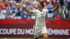 b6191521231 2015 FIFA Women s World Cup  Carli Lloyd s Determination Fuels US Victory