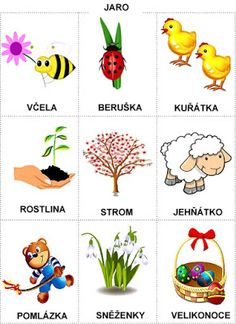 Pro Šíšu: Období JARO Easter Activities For Kids, Spring Activities, Preschool Activities, Weather For Kids, Language Dictionary, Learning English For Kids, Diy And Crafts, Crafts For Kids, Stipa