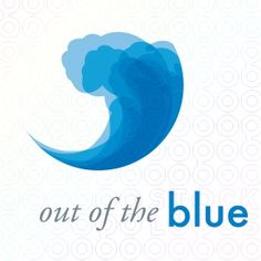 For Sale: Out of the Blue wave/water logo