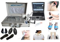 Pain Management Techniques Medicomat-291J Chronic Pain Therapy Laser Acupuncture Personal Diagnostic Health Computer