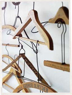 Coat hangers | Bowerbird by Sibella Court (The Society inc.) Photography Chris Court