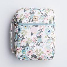 Floral Bible Case - Peach