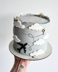 Elegant Birthday Cakes, Birthday Cakes For Men, Beautiful Cake Designs, Beautiful Cakes, New Cake, Cake Trends, Pastry And Bakery, Cake Decorating Techniques, Buttercream Cake