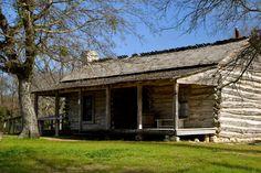 A Visit to the Past: Jourdan-Bachman Pioneer Farms in Austin, TX. #daytrips #Austin #Texas #ATX #pioneer #farm #logcabin