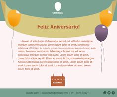 #Templates #Mediapost Acesse: https://www.mediapost.com.br/email-marketing-templates-gratis/template/aniversario-2/