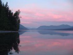 Montana Morning Glow
