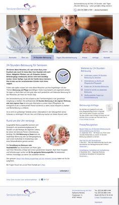 Seniorenbetreuung mit Herz  24-Stunden-Betreuung und Tages-/Stundenbetreuung    www.seniorenbetreuung-mit-herz.com