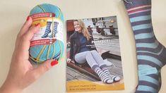 Novinky v sortimentu - příze na pruhované ponožky Knitting, School, Tricot, Breien, Stricken, Weaving, Knits, Crocheting, Yarns