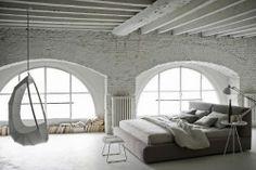 Weißes Schlafzimmer - leuchtend-grau.de