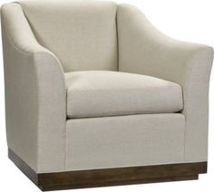 Hickory Chair Hable Heath Swivel Chair available at Hickory Park Furniture Galleries