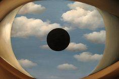 "kmitt:  ""The False Mirror"", 1928 by Rene Magritte"