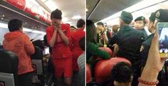 LOOK: Chinese Passenger Threw Hot Water to a Flight Attendant-Her reason will shock you – The Readers File!