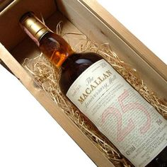 Macallan 1962 25yrs - in the drinks cabinet