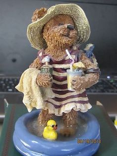 Boyds Bear Resin Esther Skinnydipper... Summer Olympics-I have her in my curio cabinet.