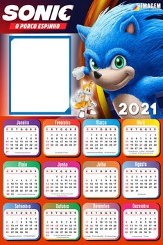 Kids Calendar, 2021 Calendar, Fotos Do Sonic, Festa Pokemon Go, Preschool Certificates, Sonic Party, Stick Figure Drawing, Arts And Crafts, Paper Crafts