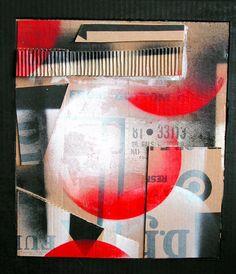 Pour les Russes collage 2003 by Eunice Parsons