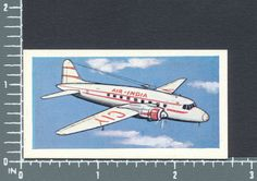 Vickers Armstrong Viking airplane Transport Present & Future Lucky Dip card #22