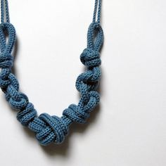 Statement wool necklace - Caterina by Ylleanna
