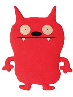 """Ugly Doll Classic Plush Doll, 12"""", Dave Darinko Red (Discontinued by manufacturer)"""