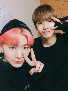 Kihyun e Hyungwon Monsta X ❤️