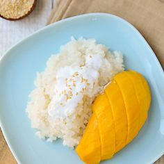 Who knew Thailand's most popular dessert was so easy to make?  A simple recipe for Mango Sticky Rice