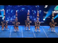 Cheer Sport Great White Sharks NCA 2018 Day 2 - YouTube Cheerleading Videos, Cheerleading Jumps, Cheerleading Quotes, Cheerleading Pictures, Cheer Pictures, Cheer Pics, Softball Pics, Cheer Stuff, Cool Cheer Stunts