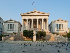 Visit the National Library in #Athens, a great place to read about Ancient History and Ancient Greece  #nationallibrary #library #athens