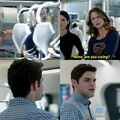 SuperGirl is always worried about other people's feeling to not to mention her own also