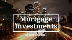 Want to find out more about investing in mortgage schemes? Visit Secured Capital is here to help you with selection of property loans. The Selection, How To Find Out, Investing