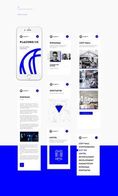 Placebo& UI& Website on Behance Ui Design Mobile, Mobile Application Design, App Ui Design, User Interface Design, Flat Design, Design Design, Desgin, Web Mobile, Ui Design Inspiration