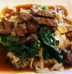 Beef kuay teow — at Taste Of Asia @ Sentosa.